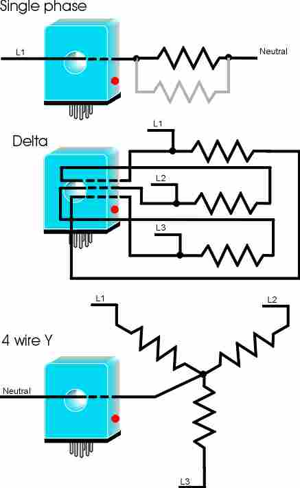 heater burn out detectors rh xtronics com 3 phase heater wiring diagram 3 phase heater element wiring